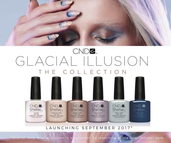 CND Glacial Illusion collection has arrived